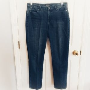 Talbots Flawless 5 Pocket Straight Curvy Jeans